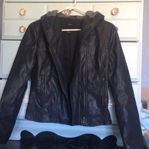Leather jacket Forever 21